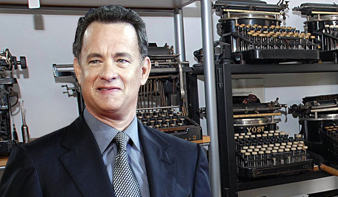 Tom Hanks - Old Timey Typewriters