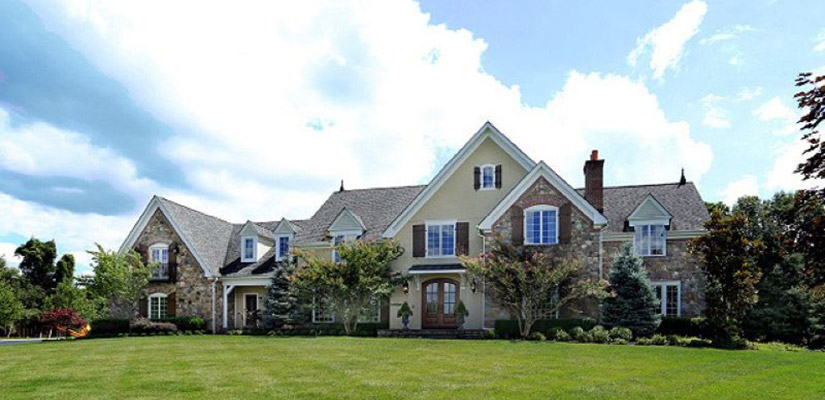Rare luxury home in tewksbury new jersey for New jersey luxury home builders